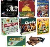 Gesellschaftsspiele mieten, Spielesammlu